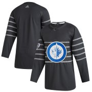 Wholesale Cheap Men's Winnipeg Jets Adidas Gray 2020 NHL All-Star Game Authentic Jersey