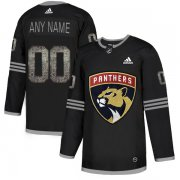 Wholesale Cheap Men's Adidas Panthers Personalized Authentic Black Classic NHL Jersey