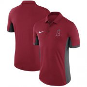 Wholesale Cheap Men's Los Angeles Angels of Anaheim Nike Red Franchise Polo