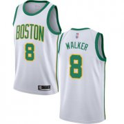 Wholesale Cheap Celtics #8 Kemba Walker White Basketball Swingman City Edition 2018-19 Jersey
