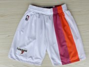 Wholesale Cheap Miami Heat White Floridians Rainbow Short