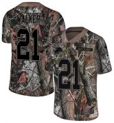 Wholesale Cheap Nike Lions #21 Tracy Walker Camo Youth Stitched NFL Limited Rush Realtree Jersey