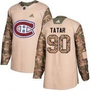 Wholesale Cheap Adidas Canadiens #90 Tomas Tatar Camo Authentic 2017 Veterans Day Stitched Youth NHL Jersey
