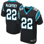 Wholesale Cheap Nike Panthers #22 Christian McCaffrey Black Team Color Men's Stitched NFL Elite Jersey