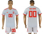 Wholesale Cheap Spain Personalized Away Soccer Country Jersey