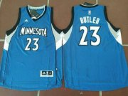 Wholesale Cheap Men's Minnesota Timberwolves #23 Jimmy Butler Blue Stitched NBA adidas Revolution 30 Swingman Jersey