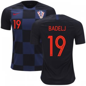 Wholesale Cheap Croatia #19 Badelj Away Kid Soccer Country Jersey