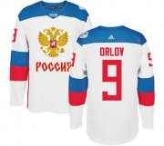 Wholesale Cheap Team Russia #9 Dmitry Orlov White 2016 World Cup Stitched NHL Jersey
