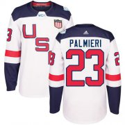 Wholesale Cheap Team USA #23 Kyle Palmieri White 2016 World Cup Stitched Youth NHL Jersey