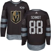 Wholesale Cheap Adidas Golden Knights #88 Nate Schmidt Black 1917-2017 100th Anniversary Stitched NHL Jersey