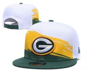 Wholesale Cheap Packers Team Logo Green White Adjustable Hat