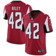 Wholesale Cheap Nike Falcons #42 Duke Riley Red Team Color Youth Stitched NFL Vapor Untouchable Limited Jersey