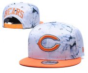 Wholesale Cheap Bears Team Logo Smoke Orange Adjustable Hat TX