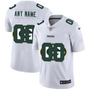 Wholesale Cheap Nike Green Bay Packers Customized White Team Big Logo Vapor Untouchable Limited Jersey