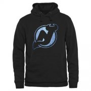 Wholesale Cheap New Jersey Devils Rinkside Pond Hockey Pullover Hoodie Black
