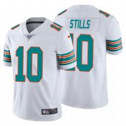 Wholesale Cheap Nike Dolphins #10 Kenny Stills White Alternate Men's Stitched NFL 100th Season Vapor Untouchable Limited Jersey