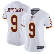 Wholesale Cheap Nike Redskins #9 Sonny Jurgensen White Women's Stitched NFL Vapor Untouchable Limited Jersey