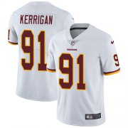 Wholesale Cheap Nike Redskins #91 Ryan Kerrigan White Men's Stitched NFL Vapor Untouchable Limited Jersey