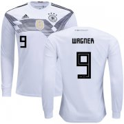 Wholesale Cheap Germany #9 Wagner Home Long Sleeves Kid Soccer Country Jersey
