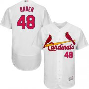 Wholesale Cheap Cardinals #48 Harrison Bader White Flexbase Authentic Collection Stitched MLB Jersey