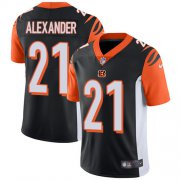 Wholesale Cheap Nike Bengals #21 Mackensie Alexander Black Team Color Youth Stitched NFL Vapor Untouchable Limited Jersey