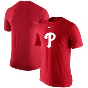 Wholesale Cheap Philadelphia Phillies Nike Legend Batting Practice Primary Logo Performance T-Shirt Red