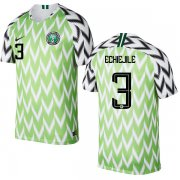 Wholesale Cheap Nigeria #3 Echiejile Home Soccer Country Jersey