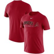 Wholesale Cheap Arizona Diamondbacks Nike MLB Practice T-Shirt Red