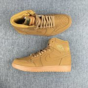 Wholesale Cheap Air Jordan 1 Wheat yellow Yellow