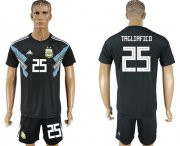 Wholesale Cheap Argentina #25 Tagliafico Away Soccer Country Jersey