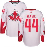 Wholesale Cheap Team Canada #44 Marc-Edouard Vlasic White 2016 World Cup Stitched Youth NHL Jersey