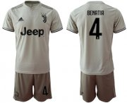 Wholesale Cheap Juventus #4 Benatia Away Soccer Club Jersey