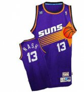 Wholesale Cheap Phoenix Suns #13 Steve Nash Purple Swingman Throwback Jersey