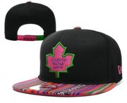 Wholesale Cheap Toronto Maple Leafs Snapback Ajustable Cap Hat YD 7