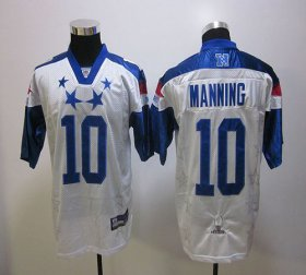 Wholesale Cheap Giants #10 Eli Manning White 2012 Pro Bowl Stitched NFL Jersey