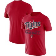 Wholesale Cheap Minnesota Twins Nike Wordmark Practice Performance T-Shirt Red