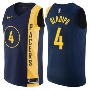 Wholesale Cheap Nike Indiana Pacers #4 Victor Oladipo Navy Blue NBA Swingman City Edition Jersey