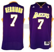 Wholesale Cheap Los Angeles Lakers #7 Ramon Sessions Revolution 30 Swingman Purple Jersey