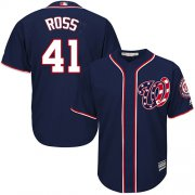 Wholesale Cheap Nationals #41 Joe Ross Navy Blue New Cool Base Stitched Youth MLB Jersey