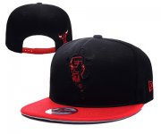 Wholesale Cheap NBA Chicago Bulls Snapback Ajustable Cap Hat YD 03-13_40