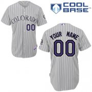 Wholesale Cheap Rockies Personalized Authentic White MLB Jersey (S-3XL)