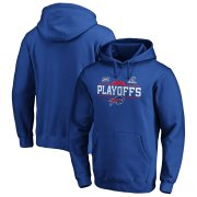 Wholesale Cheap Buffalo Bills 2019 NFL Playoffs Bound Chip Shot Pullover Hoodie Royal