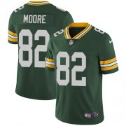 Wholesale Cheap Nike Packers #82 J'Mon Moore Green Team Color Men's Stitched NFL Vapor Untouchable Limited Jersey
