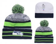 Wholesale Cheap NFL Seattle Seahawks Logo Stitched Knit Beanies 014