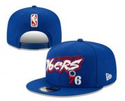 Wholesale Cheap Philadelphia 76ers Snapback Ajustable Cap Hat YD 5
