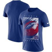 Wholesale Cheap New York Giants Nike Fan Gear Mezzo Icon Performance T-Shirt Royal