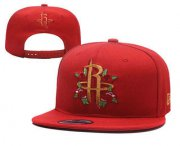 Wholesale Cheap Houston Rockets Snapback Ajustable Cap Hat YD 1