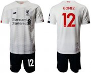 Wholesale Cheap Liverpool #12 Gomez Away Soccer Club Jersey