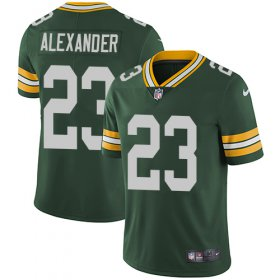 Wholesale Cheap Nike Packers #23 Jaire Alexander Green Team Color Youth Stitched NFL Vapor Untouchable Limited Jersey