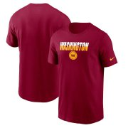 Wholesale Cheap Washington Redskins Football Team Nike Split T-Shirt Burgundy